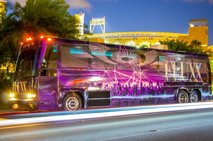 Fluxx Nightclub San Diego Party Bus By Cali Party Bus