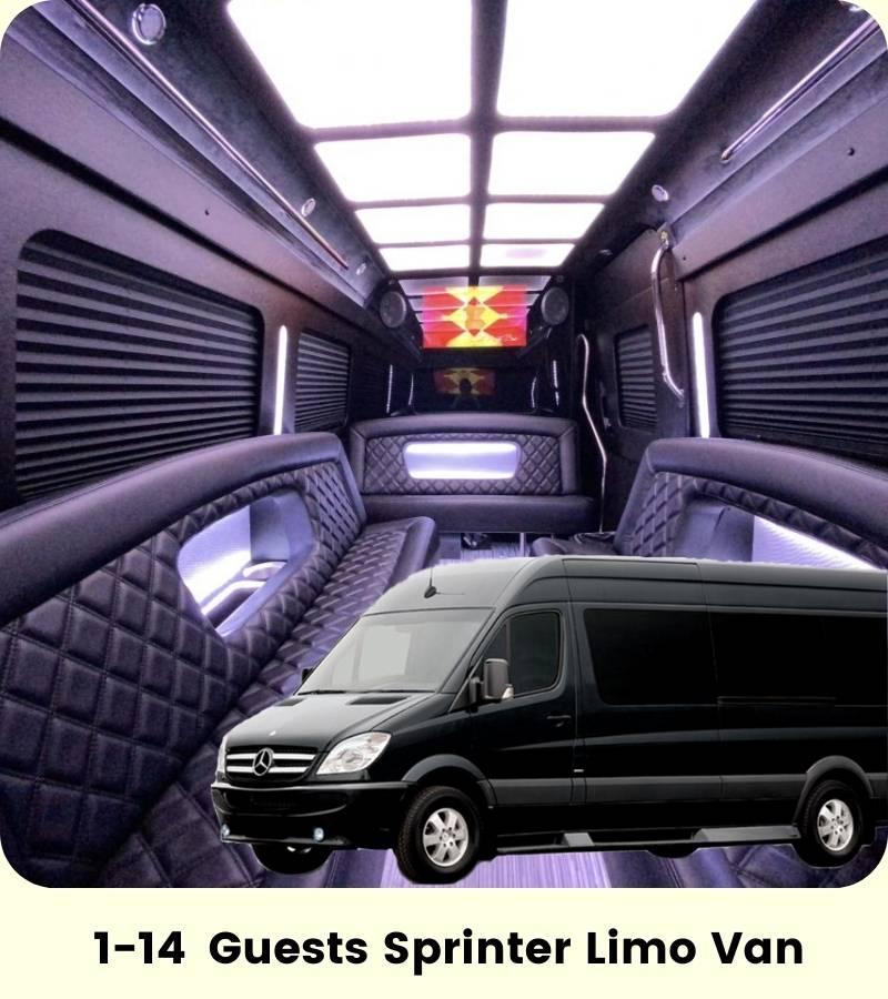 Sprinter Limo Bus Cali Party Bus