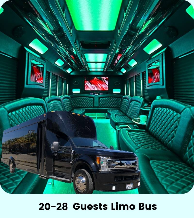 28 person sf party bus
