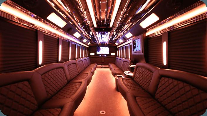 Large Party Bus San Francisco 45 guests