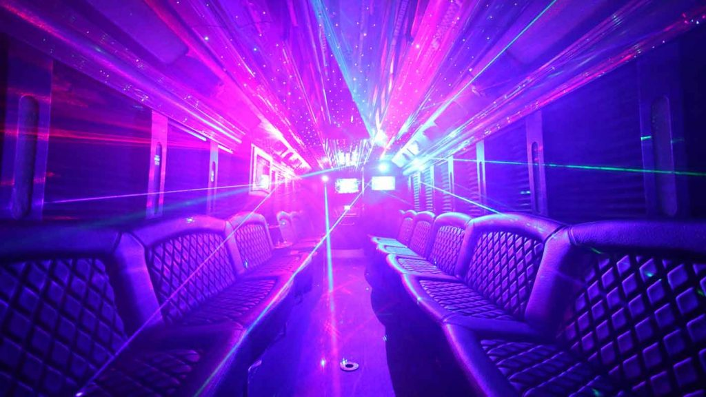 44 Person SF Limo Bus Cali Party Bus